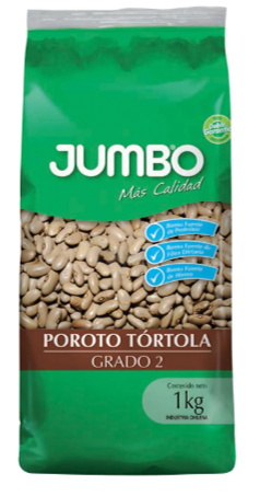 Jumbo_Poroto blanco Tortola